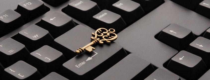 tastatur nøgle søge fonde